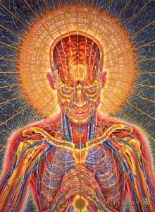 ARTIST: ALEX GREY   VIA: http://doorofperception.com/2013/11/alex-grey-how-art-evolves-consciousness/