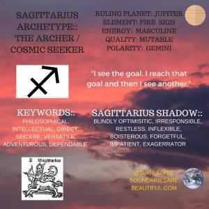 Fire sign mutable Sagittarius