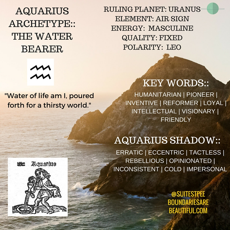 BOUNDARIES ARE BEAUTIFUL | WHO IS AQUARIUS? EXPLORE THE