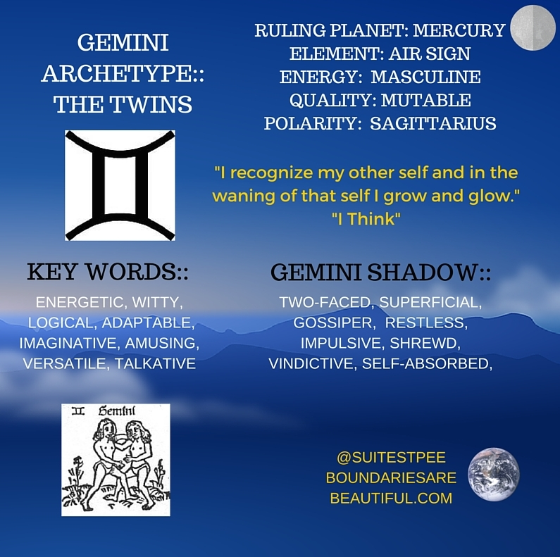 BOUNDARIES ARE BEAUTIFUL | WHO IS GEMINI? EXPLORE THE